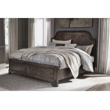 Adinton - Brown 3 Piece Bed Set (Cal King)