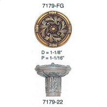 Geneve Knob/ See Matching Back Plate 8316