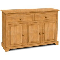 3 Door Buffet also Available with 3 Door Hutch (sku H-3B) Product Image