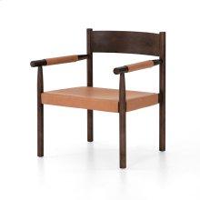 Chestnut Brown Finish Acton Chair