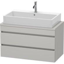 Durastyle Vanity Unit For Console Compact, Concrete Gray Matte (decor)