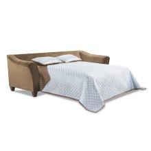 6485 KENDRICK:Sleep Sofa in Albany Chestnut / Bubbles Coffee / Jade Coffee (MFG# 6485)