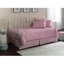 Paramount Daybed Collection Solid Pink Daybed - Twin