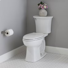 Edgemere Right Height Elongated Toilet  1.28 GPF  American Standard - White