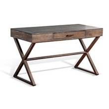 Tyler Writing Desk w/ Metal Base