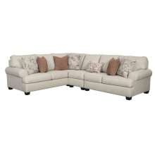 Amici - Linen 2 Piece Sectional