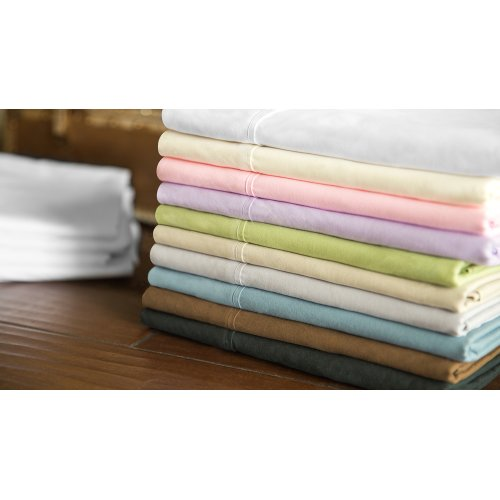 Brushed Microfiber Short Queen Driftwood