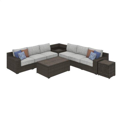 Alta Grande - Beige/Brown 2 Piece Patio Set