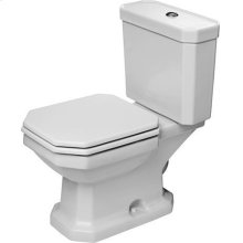 White 1930 Two-piece Toilet