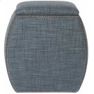Delta Ottoman in #44 Antique Nickel Product Image