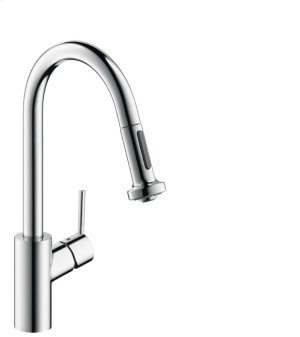Chrome HighArc Kitchen Faucet, 2-Spray Pull-Down, 1.75 GPM Product Image