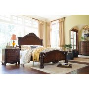 North Shore - Dark Brown 3 Piece Bed Set (Cal King) Product Image