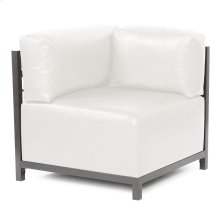 Axis Corner Chair Avanti White Slipcover