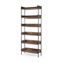 River Bookshelf-toasted Acacia