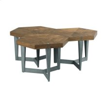 AD Modern Synergy Echo Bunching Cocktail Table