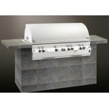Gas Barbecue Grills Echelon 1060s. Island Grill Feather-Lite Model