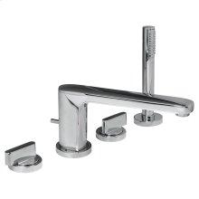Moments Deck-Mount Bathtub Faucet - Polished Chrome