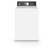 26 Inch Top Load Washer with 8 Preset Cycles, White