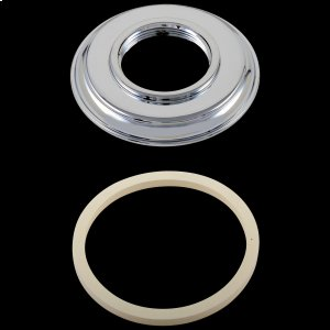 Chrome Handle Base w/ Gasket - Roman Tub Product Image