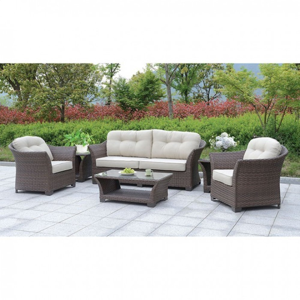 Bowbells 6 Pc. Patio Set W/ Coffee Table & 2 End Tables