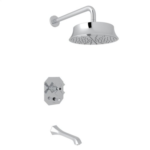 Polished Chrome Bellia Bekit300l Pressure Balance Shower Package