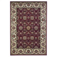 "Cambridge 7306 Red/ivory Floral Agra 5'3"" X 7'7"""