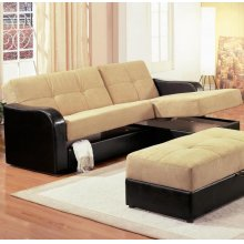 Brown Function Sofa
