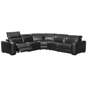 Mantonya - Midnight 4 Piece Sectional