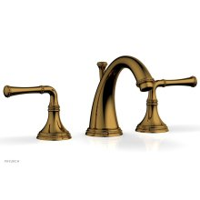 BEADED Widespread Faucet Lever Handles 207-01 - French Brass