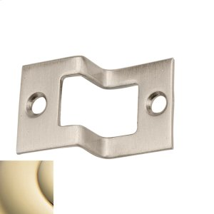 Lifetime Polished Brass Rabbeted Strike Product Image