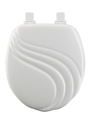 Molded Wood Round Toilet Seat Product Image