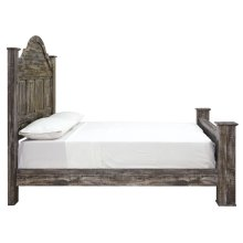 Lynnton - Rustic Brown 4 Piece Bed Set (King)