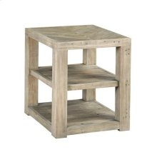 Reclamation Place Shelf End Table