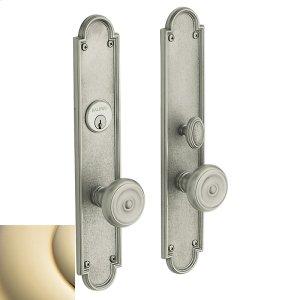 Lifetime Polished Brass San Francisco Entrance Trim Product Image