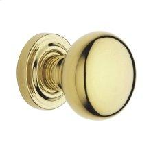 Lifetime Polished Brass 5000 Estate Knob