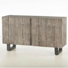 "Steamboat Sideboard 60"" Weathered Gray"