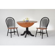 Drop Leaf Pedestal Table