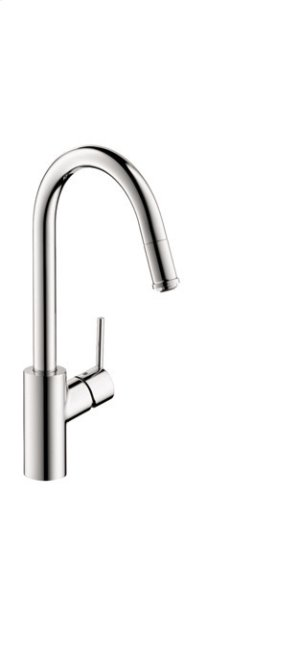 Chrome HighArc Kitchen Faucet, 1-Spray Pull-Down, 1.75 GPM Product Image