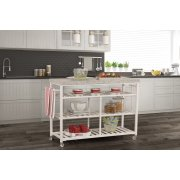 Kennon Kitchen Cart - Granite Top Product Image