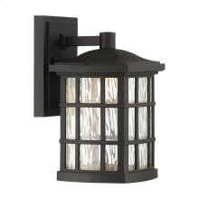 Stonington LED Outdoor Lantern in Mystic Black