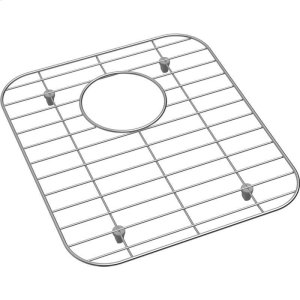 "Dayton Stainless Steel 12-1/8"" x 13-15/16"" x 1"" Bottom Grid Product Image"