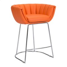 Latte Counter Chair Orange