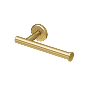 Latitude2 Euro Tissue Holder in Brushed Brass Product Image