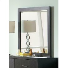 Grove Black Dresser Mirror
