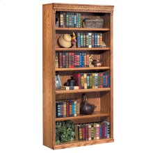 "72"" Open Bookcase"