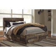 Derekson - Multi Gray 5 Piece Bed Set (Queen) Product Image
