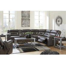 LAF REC Power Sofa w/Console