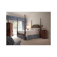 Bridgeport Pencil Post King Bed Product Image
