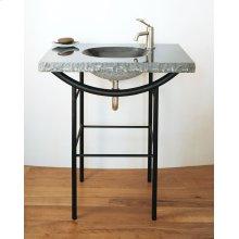 Integral Sink Blue Gray Granite