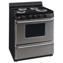 30 in. Freestanding Electric Range in Stainless Steel